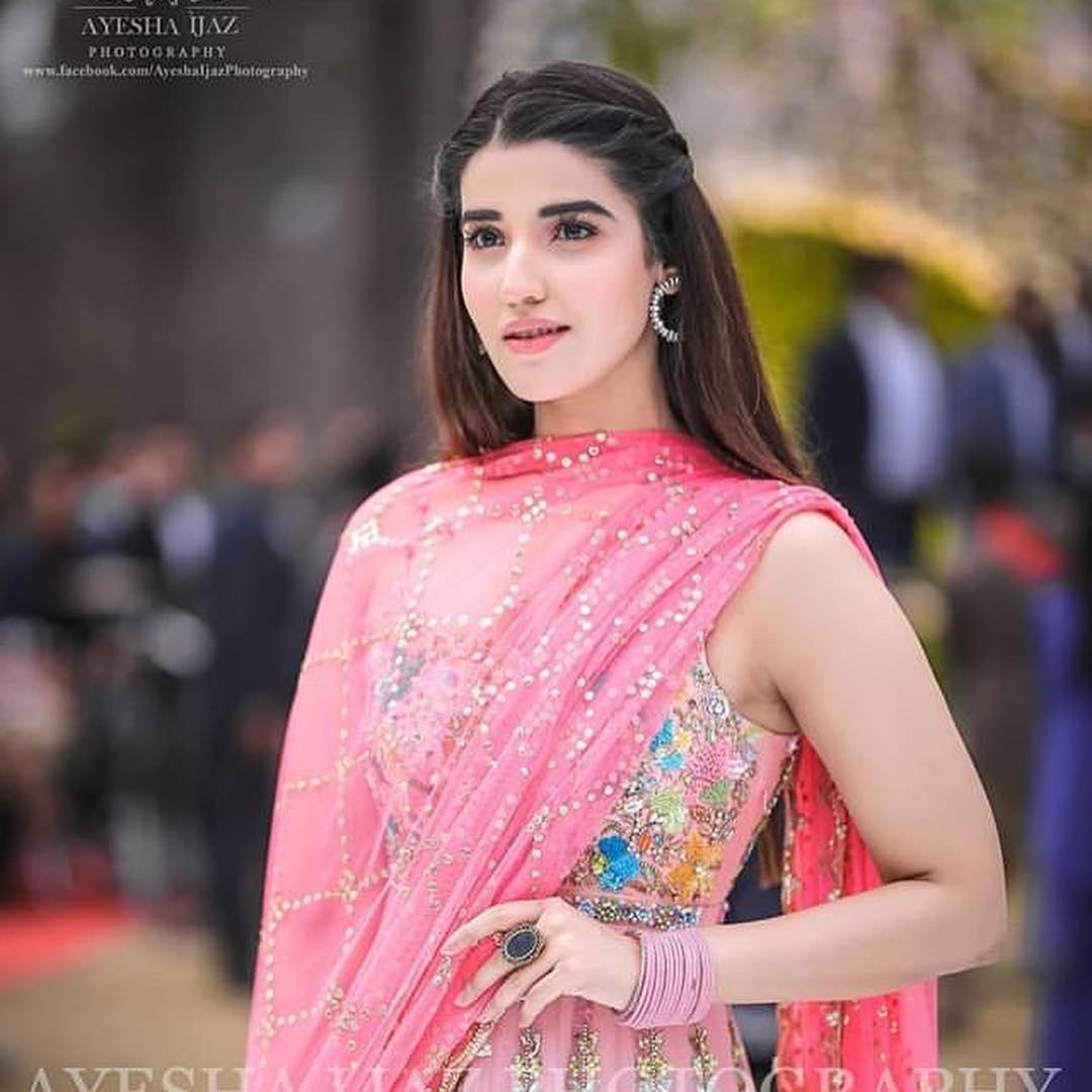 Beautiful Hareem Farooq At A Wedding Event