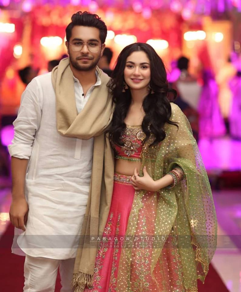 Hania Amir and Asim Azhar at a Wedding Event in Lahore | Pakistani Drama Celebrities