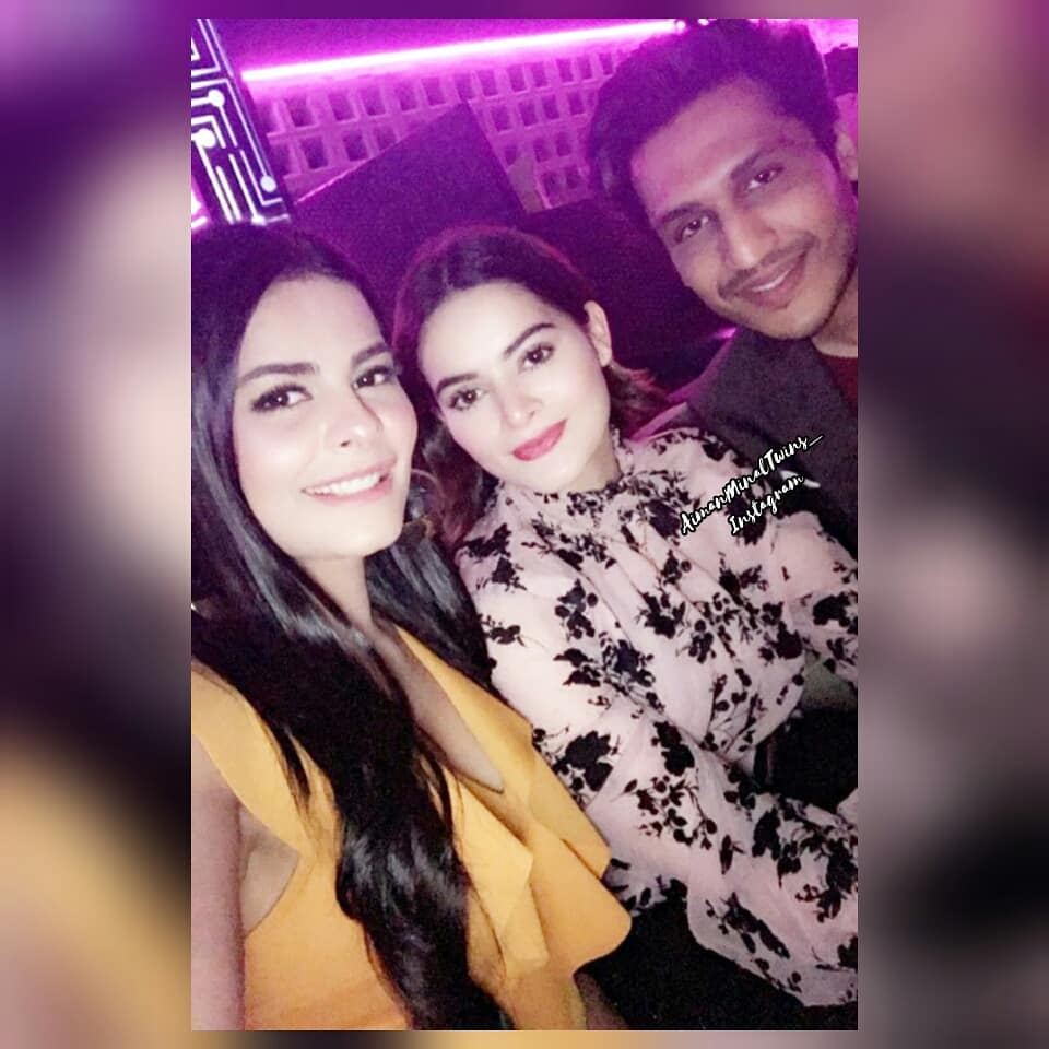 Minal Khan At The Birthday Party Of Kinza Hashmi