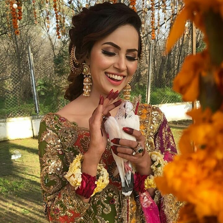 beautiful mehndi photoshoot of nimra khan