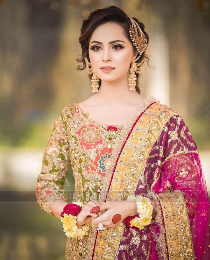 Beautiful Mehndi Photoshoot of Nimra Khan | Pakistani ...