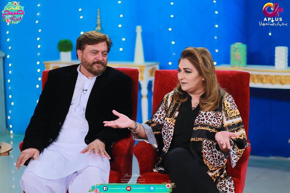 Beautiful Natasha Ali at Farah Saadya Morning Show ...
