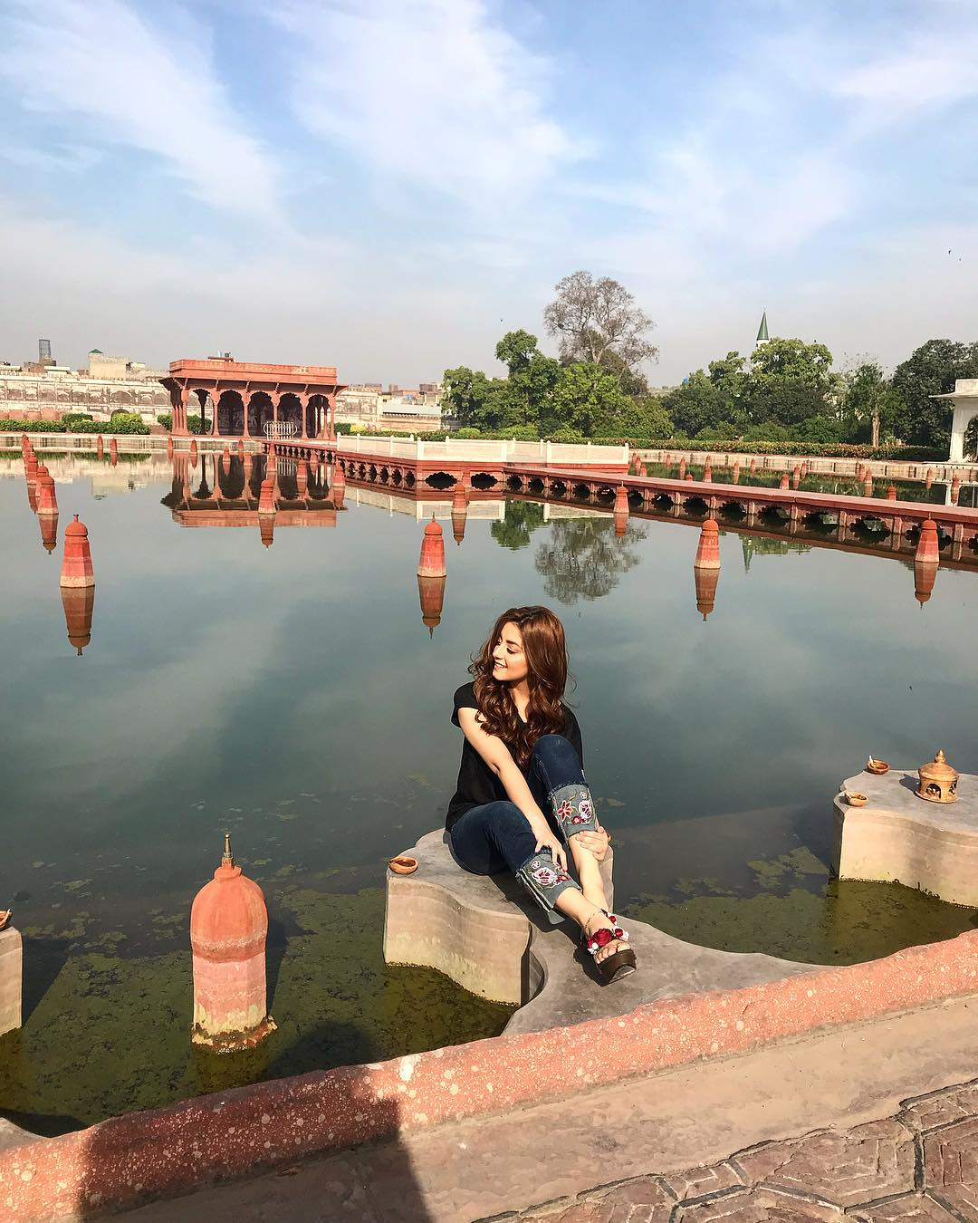 Privacy Policy >> Beautiful Alizeh Shah at Shalamar Garden Lahore | Pakistani Drama Celebrities