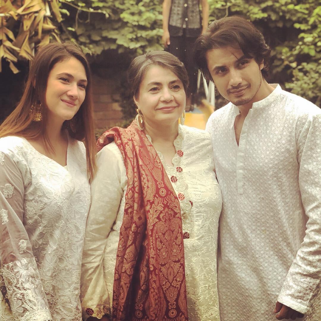 Latest Beautiful Clicks of Ali Zafar with his Wife Ayesha