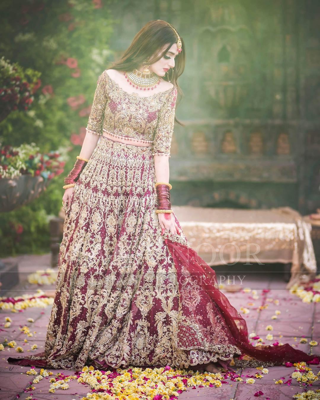 Wedding Dress: Beautiful Latest Bridal Photoshoot Of Hira Mani