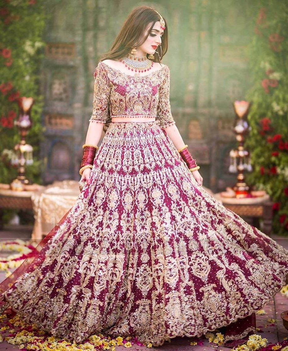 Beautiful Latest Bridal Photoshoot Of Hira Mani