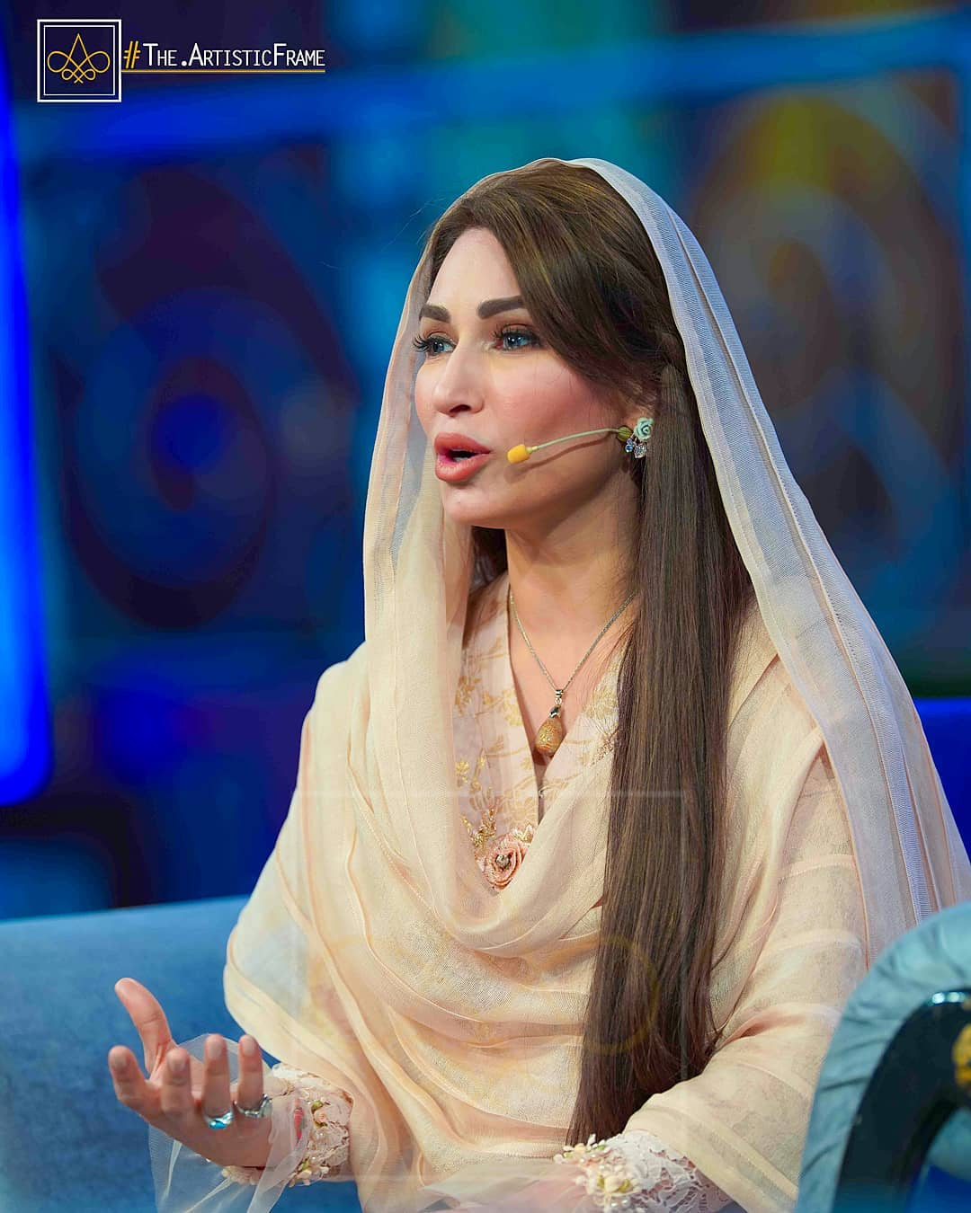 What Is Transmission >> Hira and Mani in Reema Khan Ramazan Transmission Show