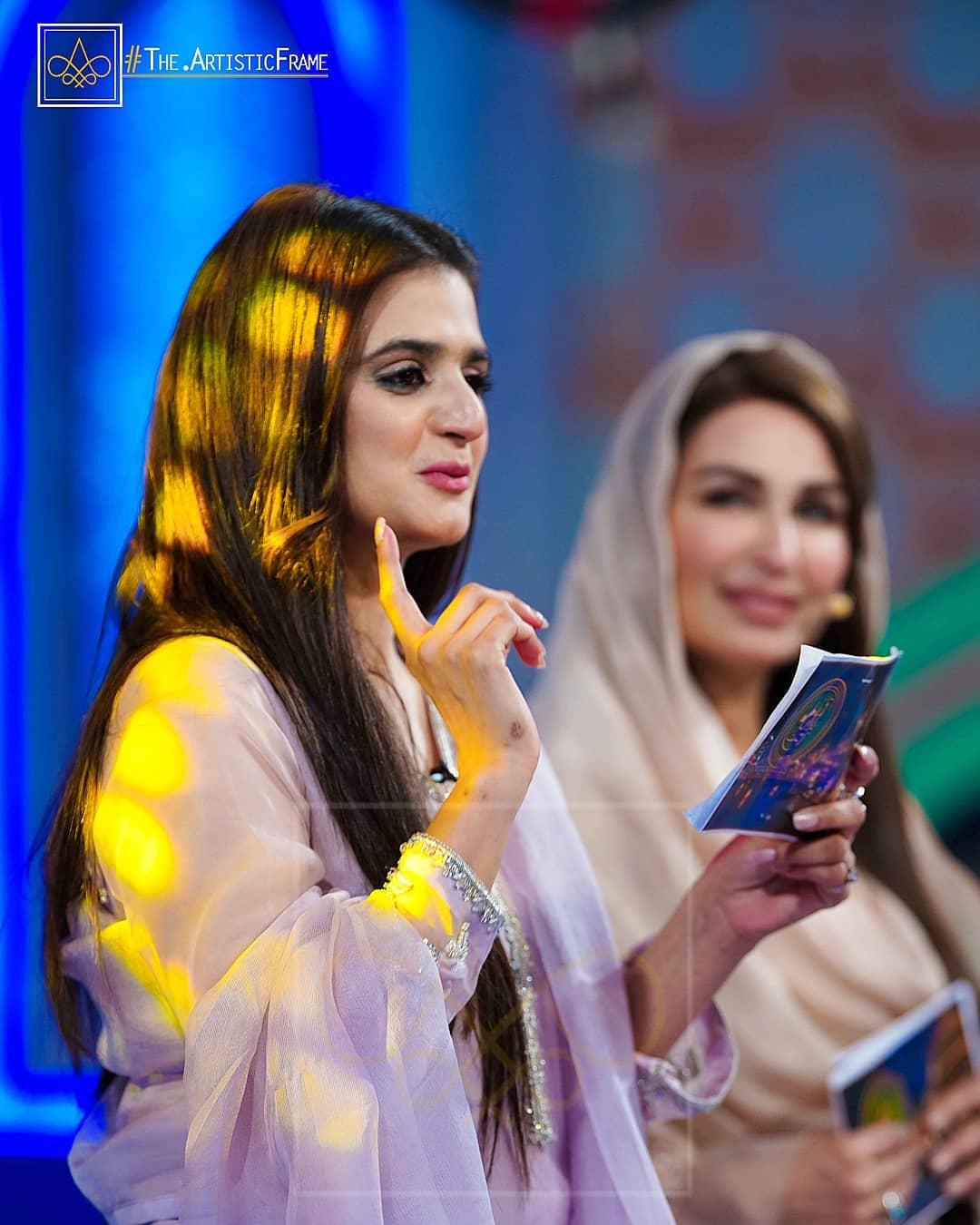 What Is Transmission >> Hira and Mani in Reema Khan Ramazan Transmission Show ...