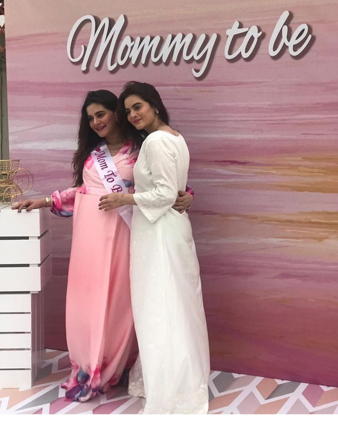 Aiman Khan's Baby Shower Happening Right Now