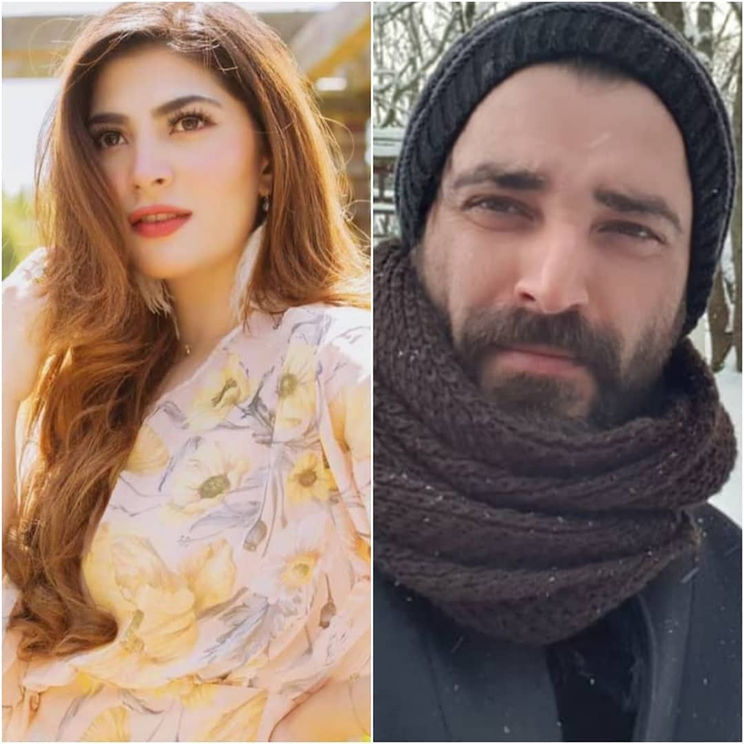 Beautiful Pictures of Hamza Ali Abbasi with his Bride to be