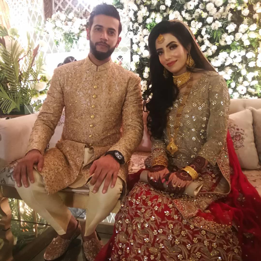 Image result for imad wasim wedding