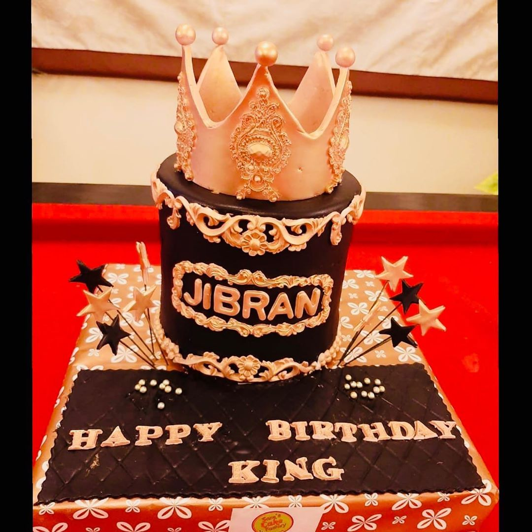 Syed Jibran Celebrating His Birthday With His Wife And