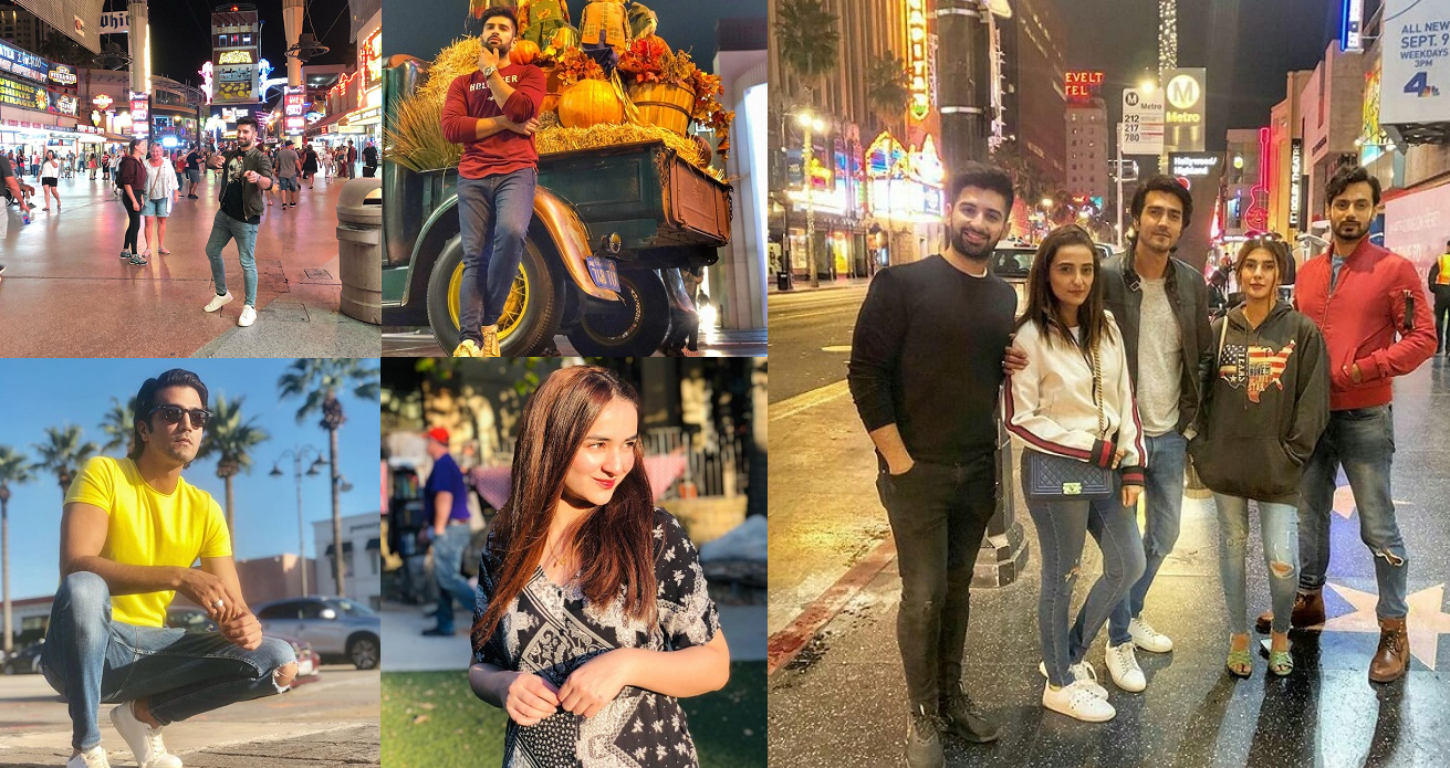 Latest Pictures Of Pakistani Celebrities In Usa