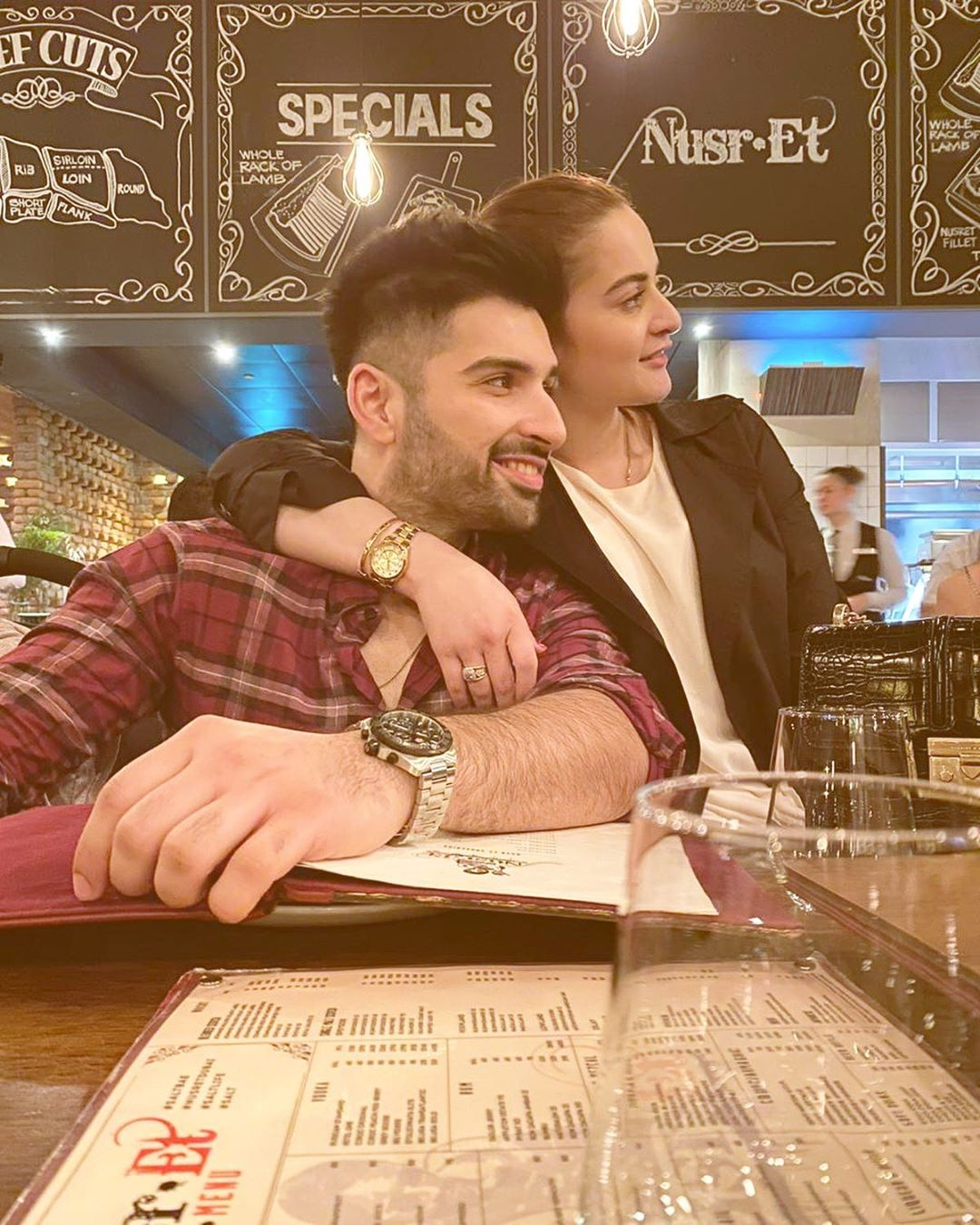 , Latest Pictures of Aiman and Muneeb in Dubai, Top Breaking News, Top Breaking News