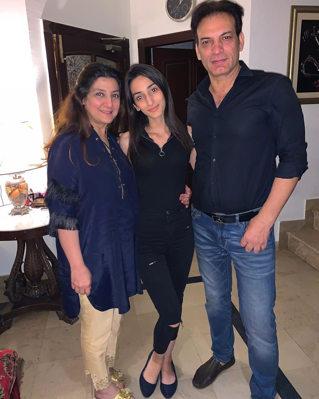 Latest Pictures of Saleem Sheikh with his Daughters ...