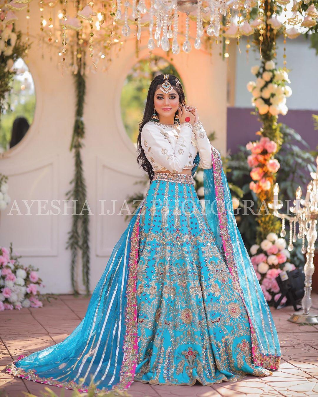 Wedding Dress: Beautiful Photoshoot Of Tiktok Star Areeka Haq For