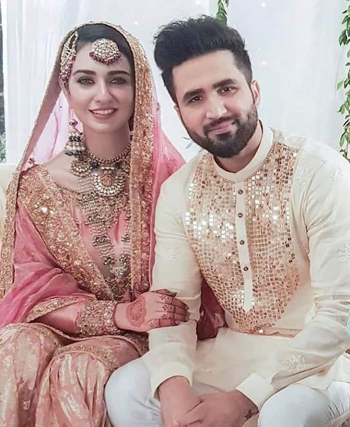Latest Beautiful Wedding Pictures Of Sarah Khan And Falak