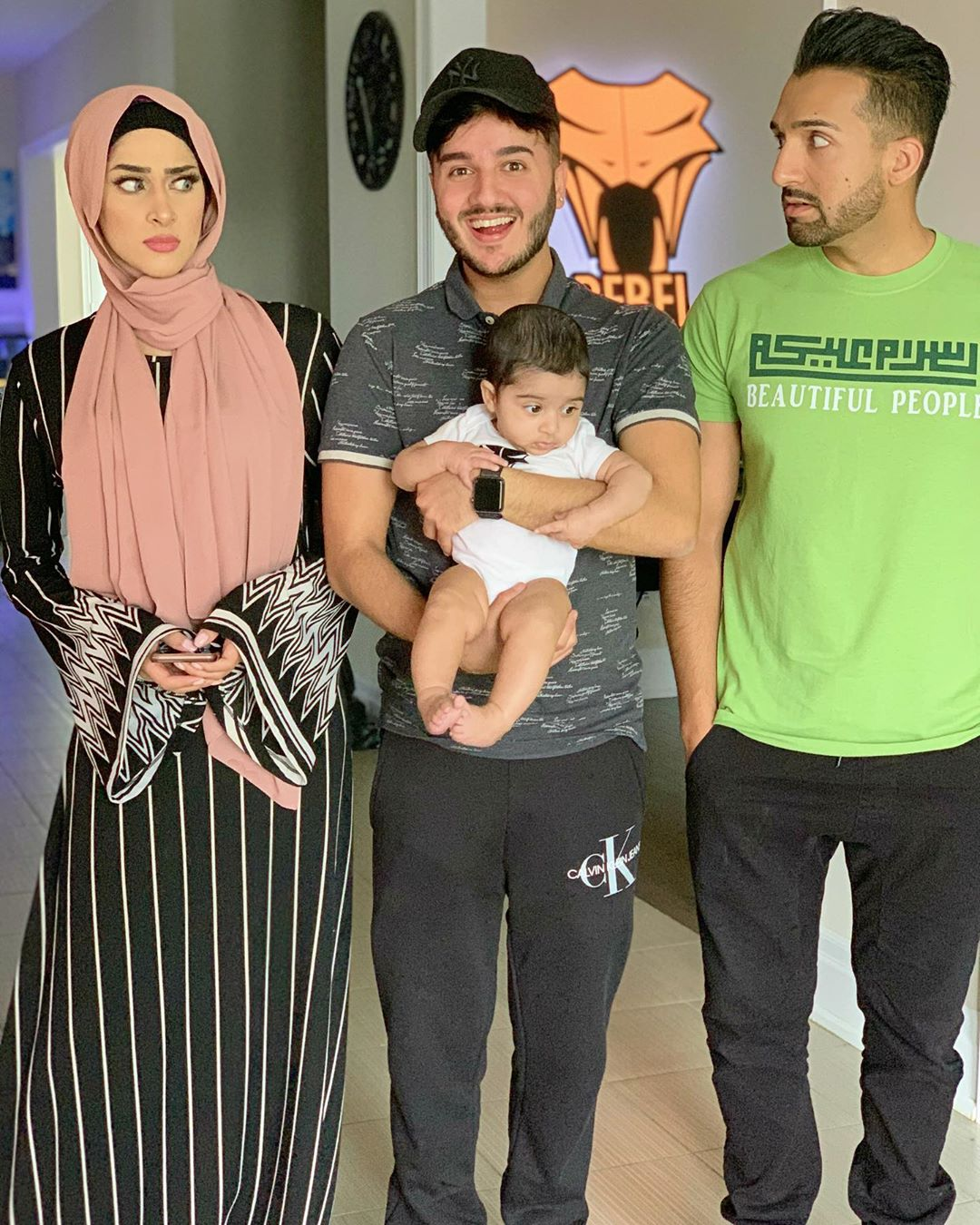 Sham Idrees And Queen Froggy With Their Cute Daughter Seirra Pakistani Drama Celebrities