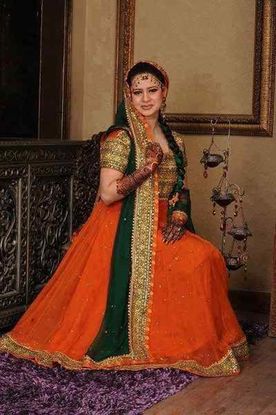 Mehndi Dresses 2015 Designs For Pakistani Brides 0015 Pakistani Drama Celebrities
