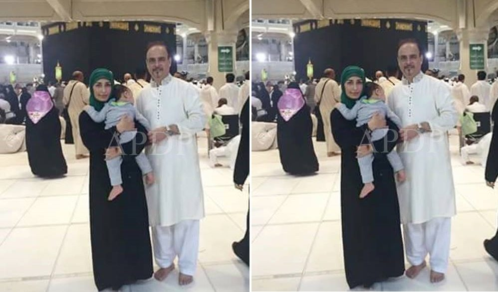 Non Muslim Perspective On The Revolution Of Imam Hussain: Reema Khan Performed Umrah With Her Husband Tariq Shahab