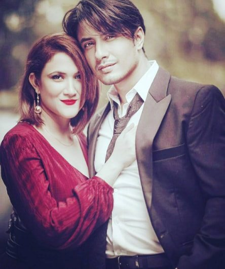 Image result for ali zafar and his wife
