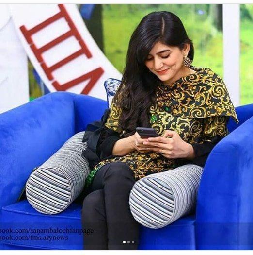 sarah khan agha ali  sanam baloch morning show