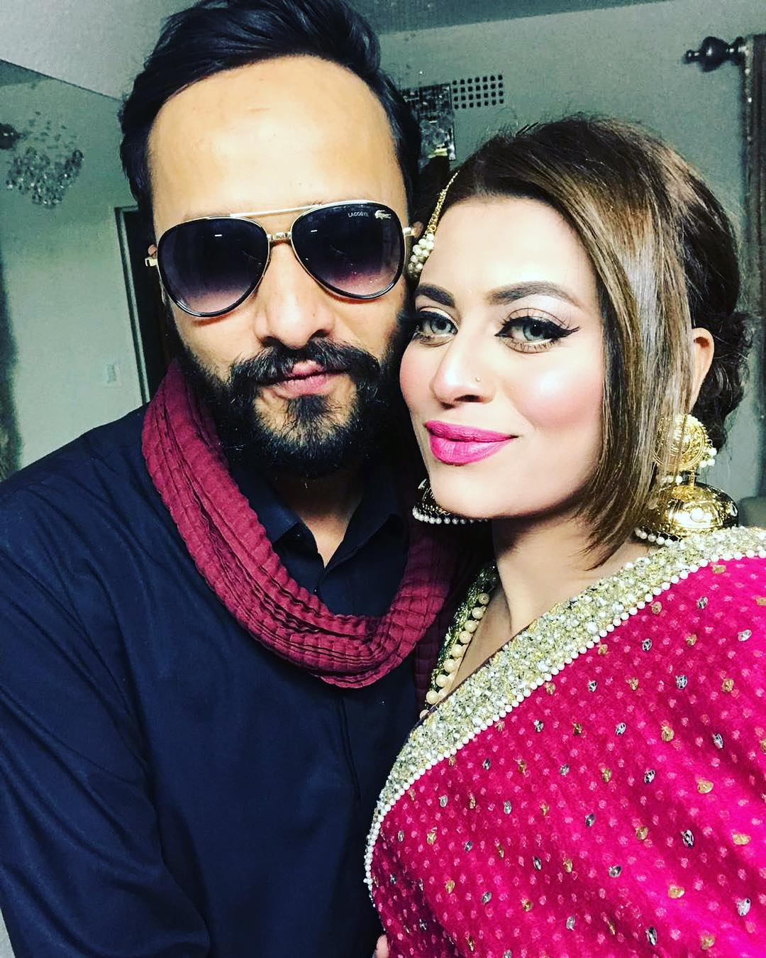 Privacy Policy >> Beautiful Clicks of Benita David with her Husband at a ...